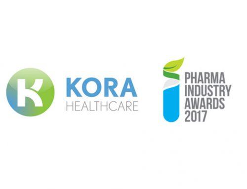 Kora Healthcare Shortlisted for 2017 Pharma Industry Awards