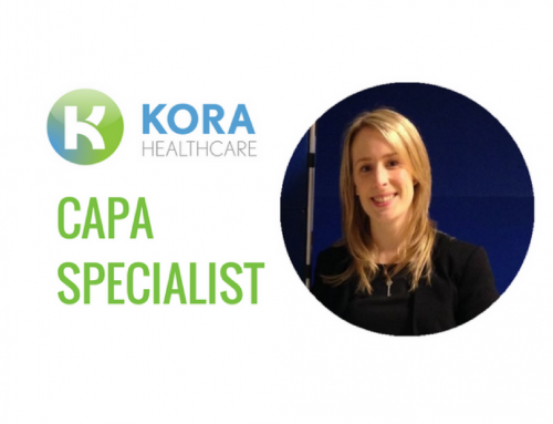 Kora Welcomes new CAPA Specialist