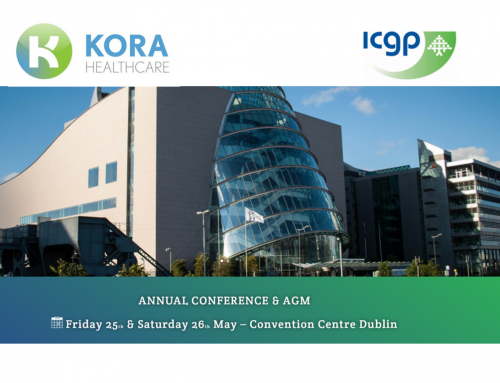 Kora Healthcare exhibiting at ICGP Annual Conference and AGM